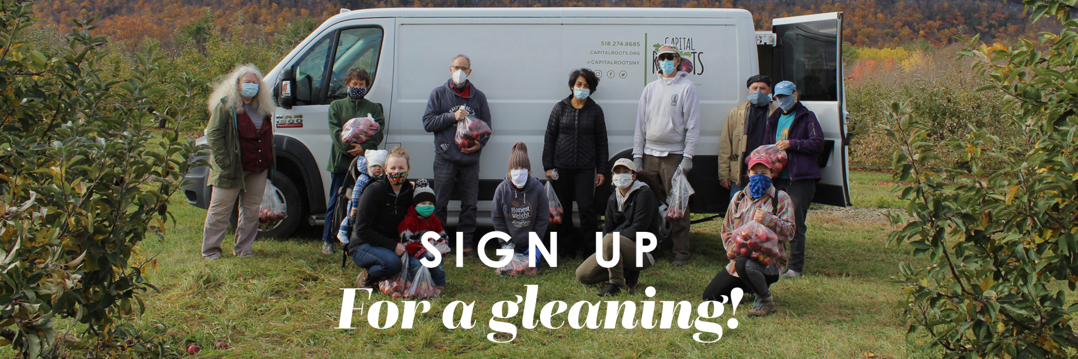Click to View Volunteer Opportunities on SignUp.com